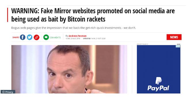 Brexit Millionaire Scam