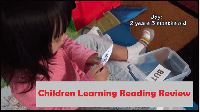 Children Learning Reading Features