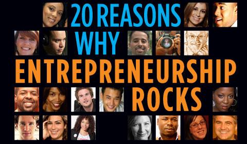 Reasons Why Entrepreneurship Rocks