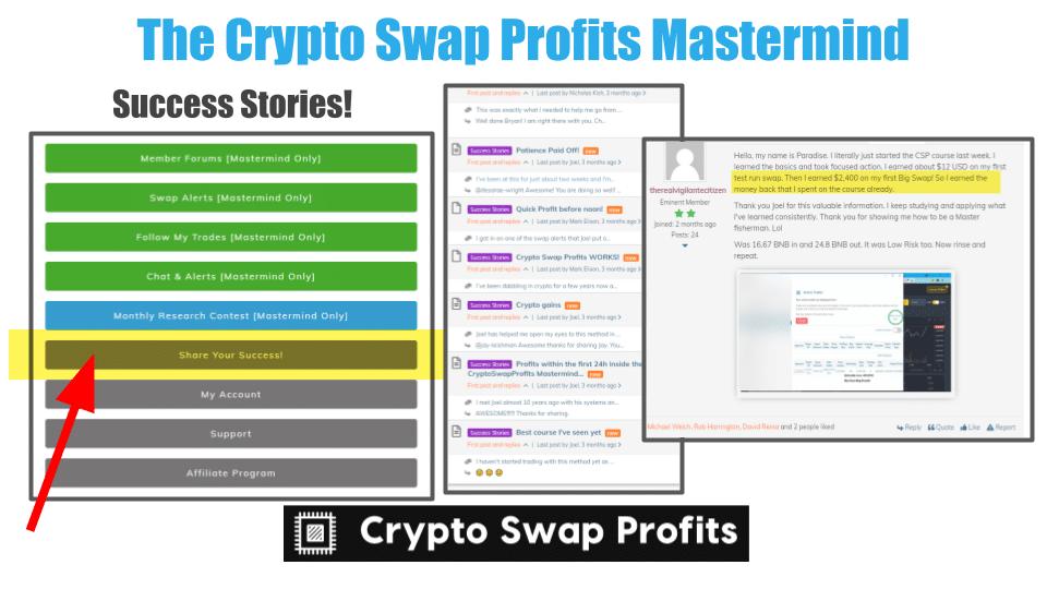 Crypto Swap Profits MasterMind Pros