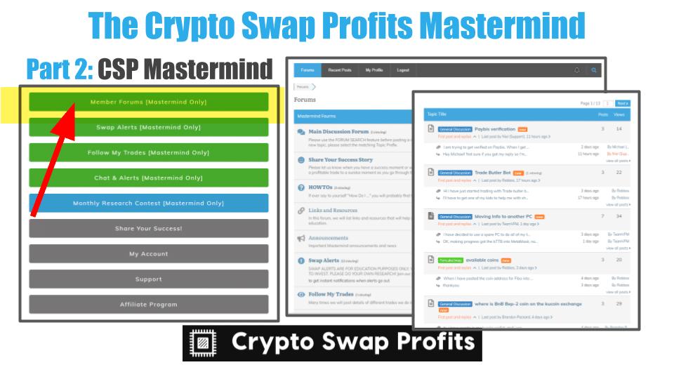 Crypto Swap Profits MasterMind Reviews Part two