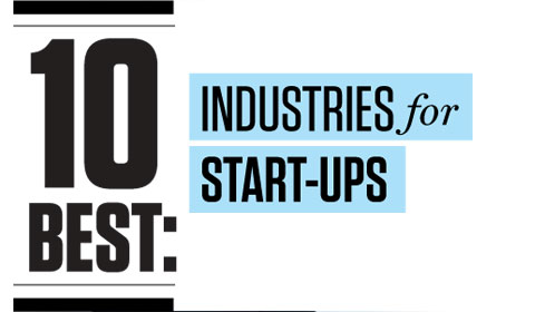The 10 Best Industries For Startups