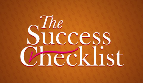 The Success Checklist For Entrepreneurs