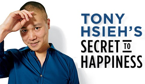 Tony Hsieh's Secret To Happiness